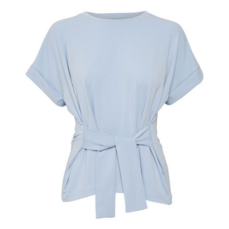 Tinnie Tie Waist Top Blue