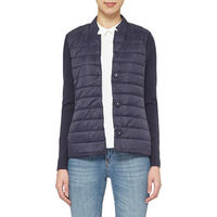 Ceara Quilted Jacket Navy