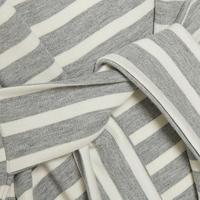 Thilda Tie Waist Top Grey