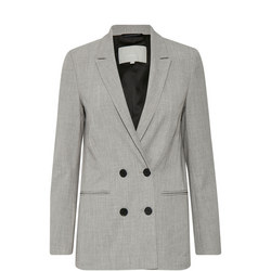 Chaia Double Breasted Blazer Grey