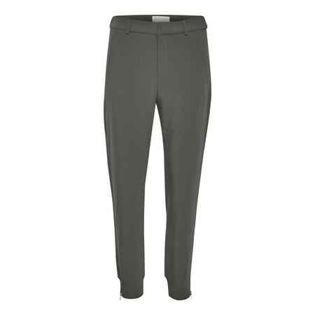 Nica Double Weave Trousers Grey