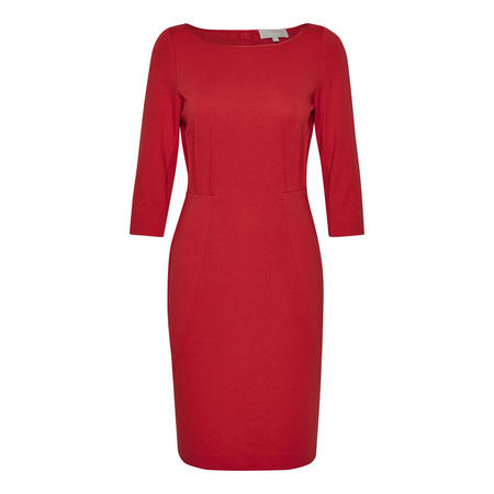 Bagulio Pencil Dress Red