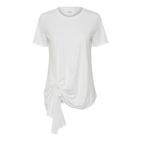 Preeda Ruched Hem T-Shirt White