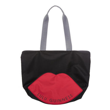 Lola Lip Base Tote Bag Black