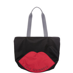 Lola Lip Base Tote Bag Black