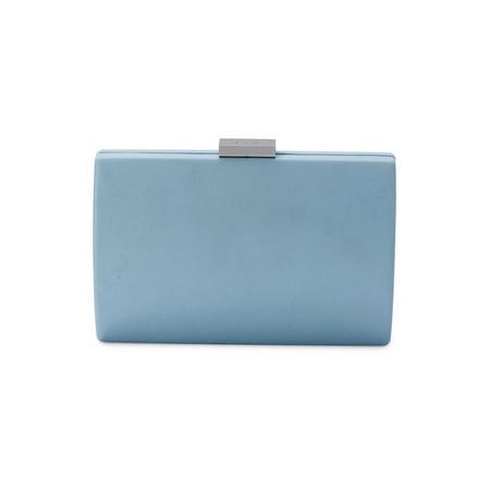 Adley Oversize Pod Clutch Blue