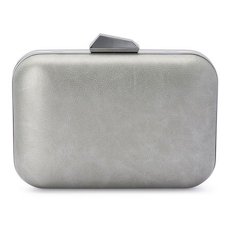 Blanca Mottled Pod Clutch Grey
