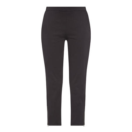 Padme Cropped Jeggings Black