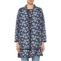 Jaelle Quilted Jacket Navy