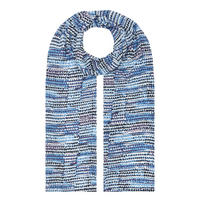 Along Printed Scarf Blue
