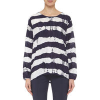 Deane Striped Top Navy