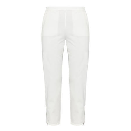 Padme Cropped Jeggings White