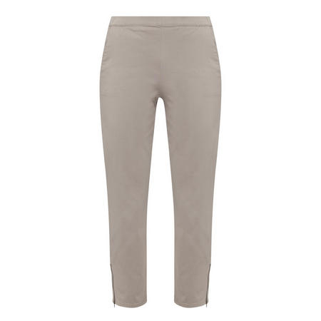 Padme Capri Trousers Grey