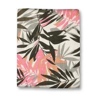 Leaf Print Scarf Multicolour