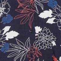 Inga Floral Print Blouse Navy