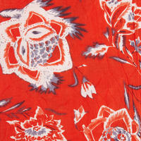 Along Printed Scarf Red