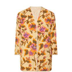 Jaelle Quilted Reversible Jacket Beige