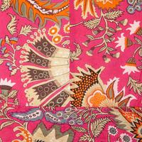 Delia Printed Tunic Top Pink