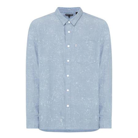Line 8 One-Pocket Shirt Blue