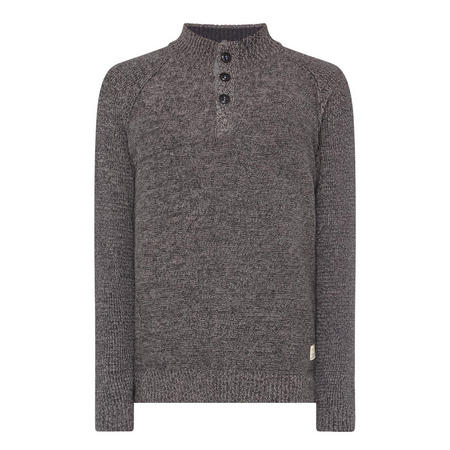 Harris Grandad Knit Grey