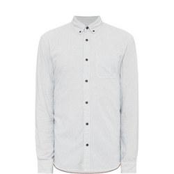 Lisburn Jacquard Shirt White