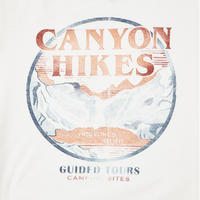Canyon Mountain T-Shirt White