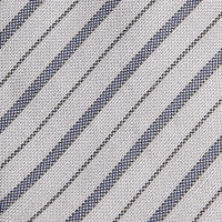 Striped Tie Grey