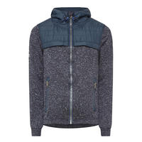 Strom Quilted Hybrid Jacket Navy