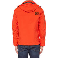 Pop Zip Hooded Arctic Windcheater Jacket Red