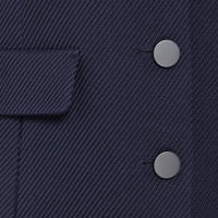 Button-Down Coat Navy