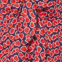 Heart Motif Blouse Multicolour