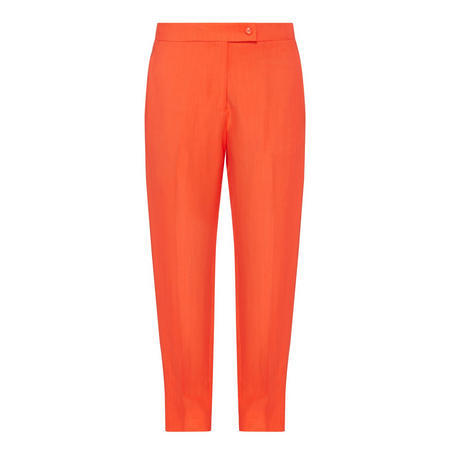 Tapered Trousers Orange