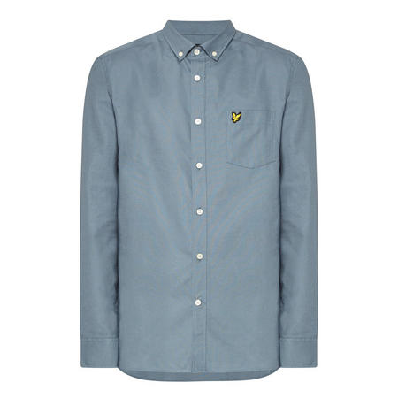 Oxford Long-Sleeved Shirt Blue