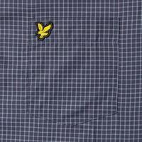 Mini Check Shirt Navy