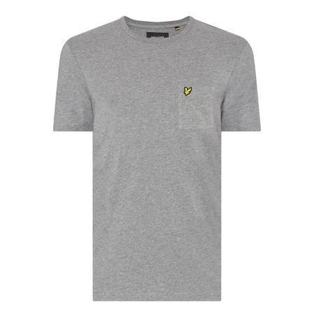 Flecked Pocket T-Shirt Grey