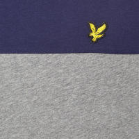 Colour-Block T-Shirt Grey