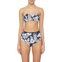 Royal Horizon Bandeau Bikini Top Blue