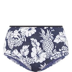 Royal Horizon Bikini Briefs Blue