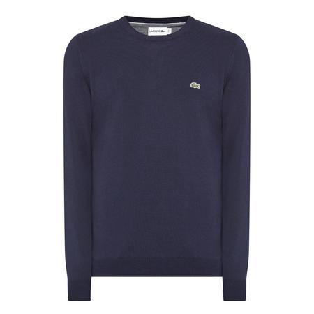 Crew Neck Sweater Navy