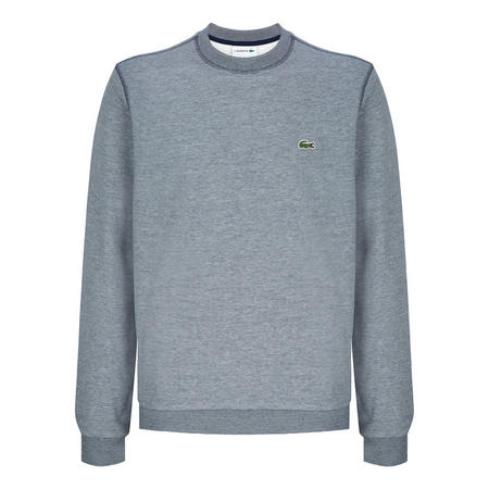 Striped Crew Neck Sweater Blue