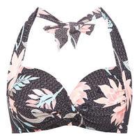 Bali Hai Halter-Neck Bikini Top Multicolour