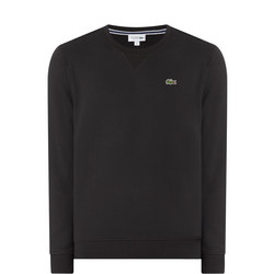 Classic Crew Neck Sweatshirt Black