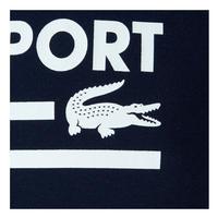 Technical Jersey Logo T-Shirt Navy