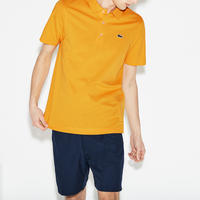 Classic Short Sleeve Polo Shirt Yellow