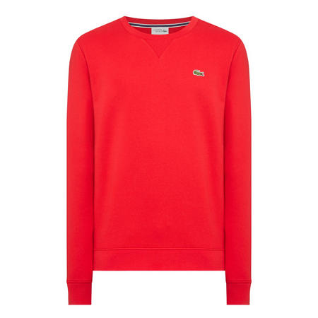 Classic Crew Neck Sweatshirt Red