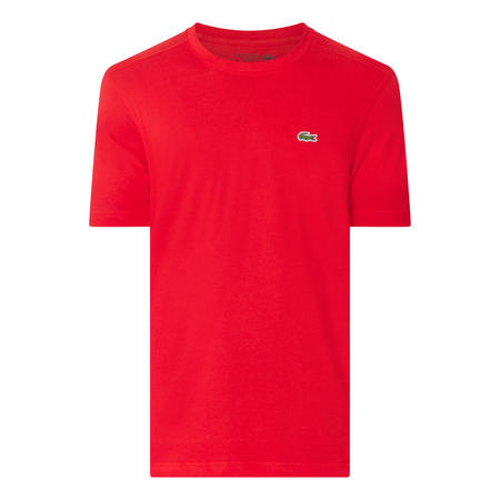 Tech Jersey Tennis T-Shirt Red