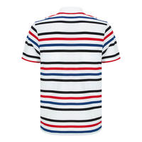 Striped Ultra-Light Tennis Polo Shirt Multicolour
