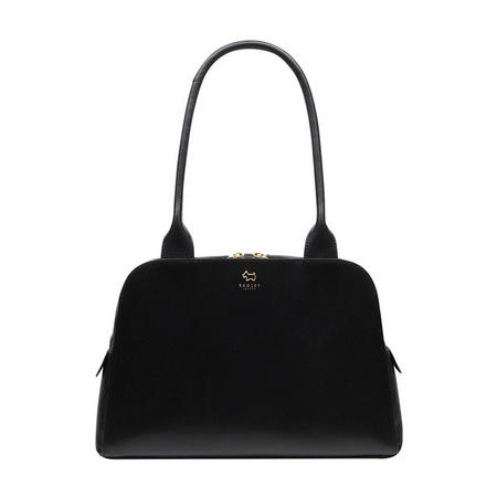 Millbank Medium Zip Top Tote Bag Black