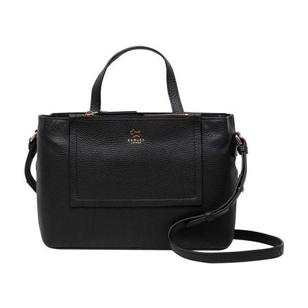 Farthing Downs Medium Shoulder Bag Black