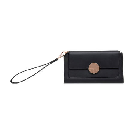 Turner Street Small Foldover Wrislet Wallet Black
